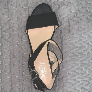 Shelly London BLACK mini heels